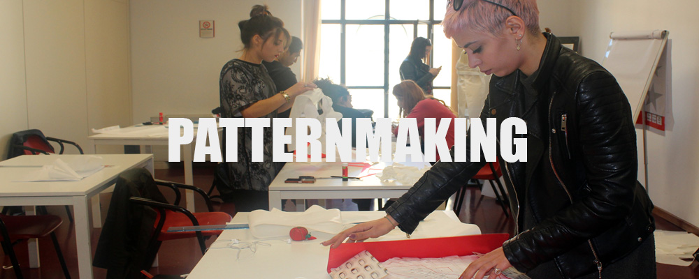 Patternmaking Course Marangoni method Milan